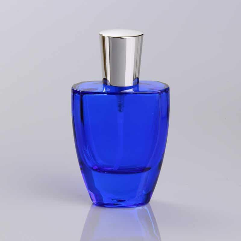50ml Blue Coating Glass Bottle