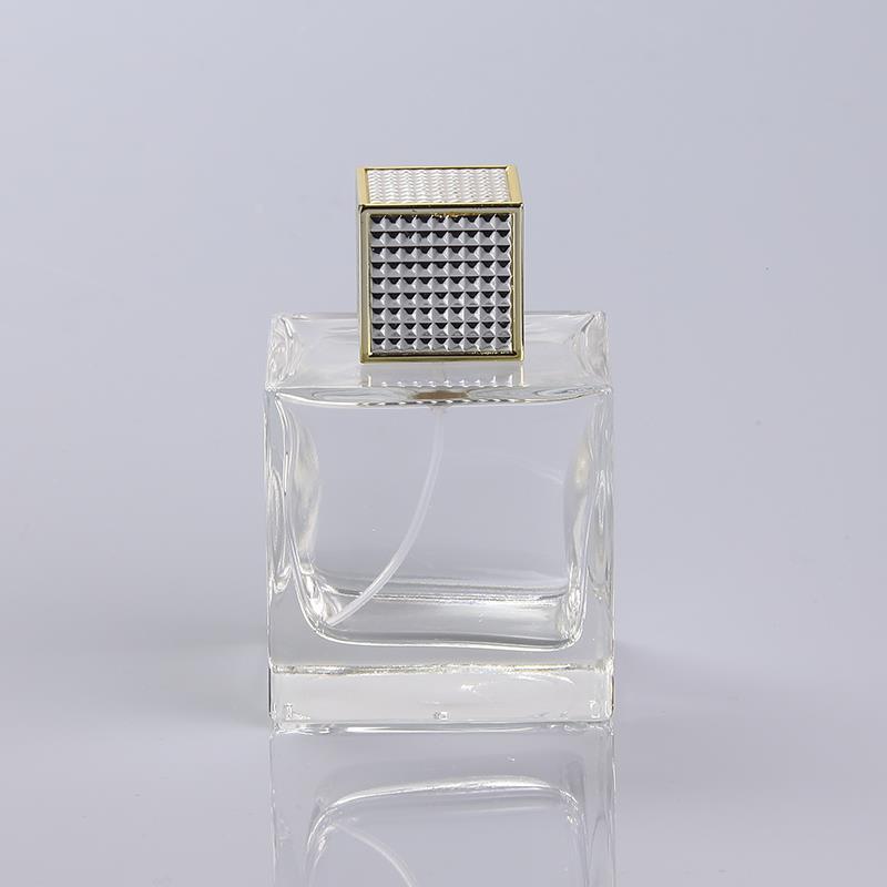 Transparent Refillable Perfume Spray Bottle