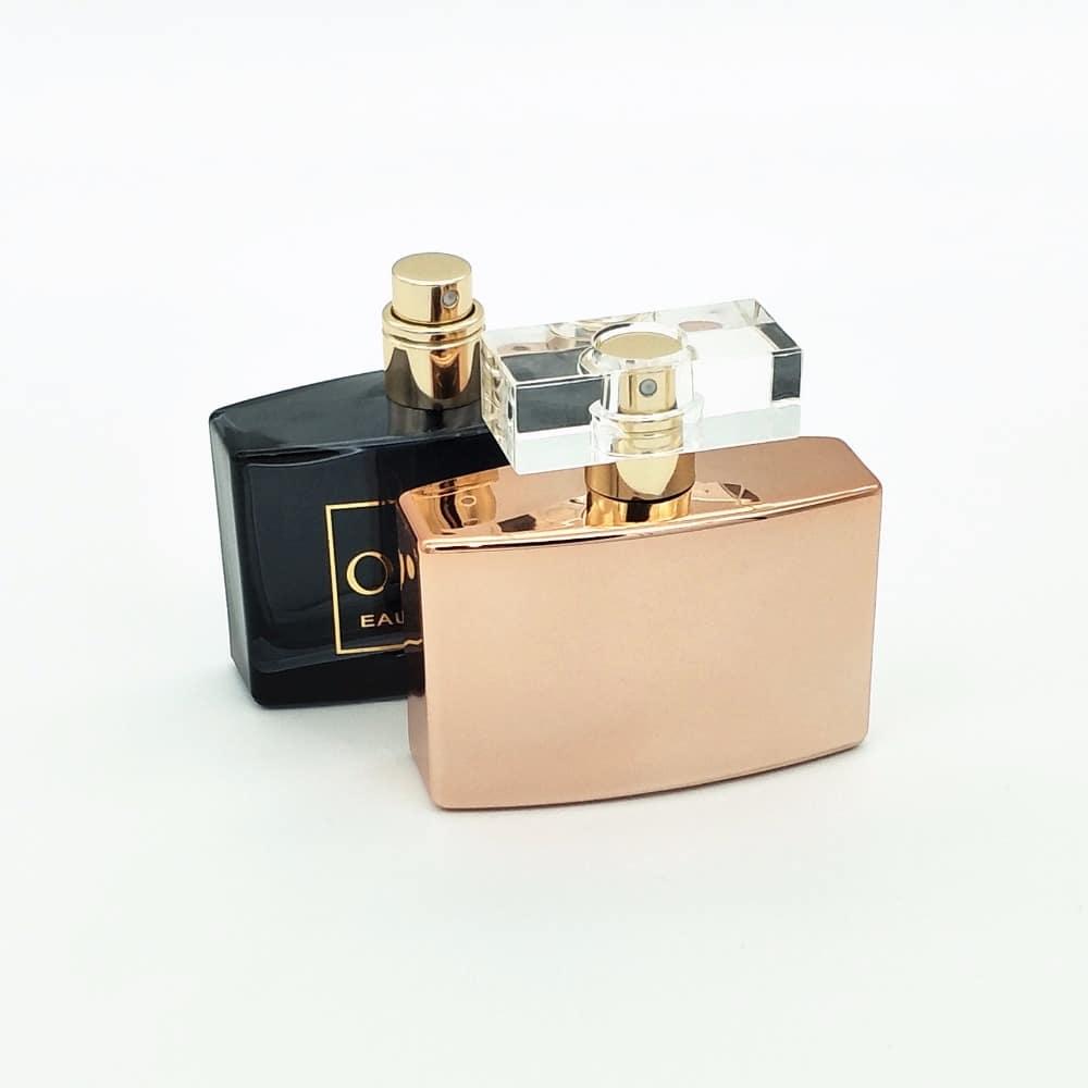 50ml empty uv perfume glass spray bottle
