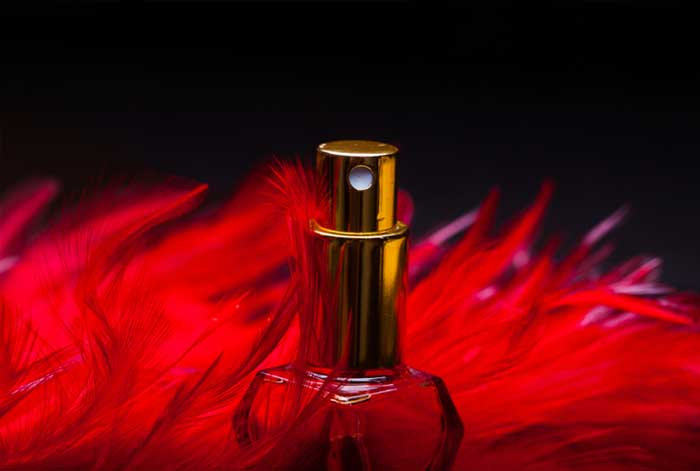 red-perfume-bottle